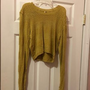 Adorable cropped FP sweater